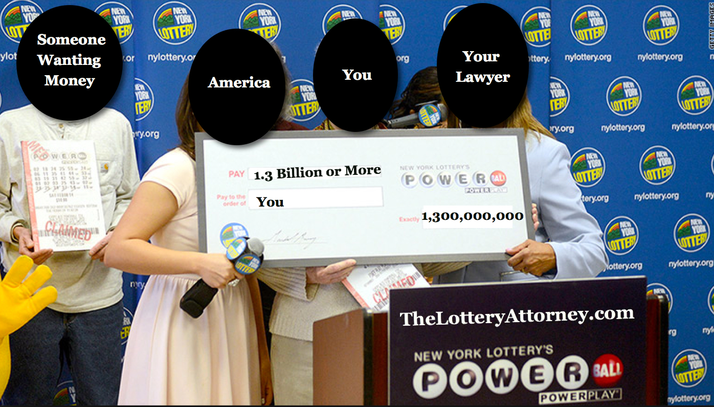 Six Tips from a Lawyer in Case You Win the Powerball Lottery
